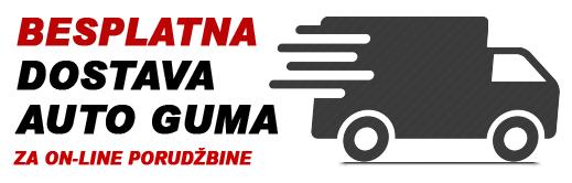 Besplatna dostava auto guma